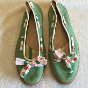 Sperry Top Sider flats size 9.5M.